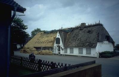Häuserbau traditionell bei Husum