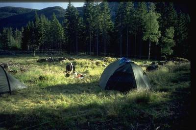 Wildcampen (Telemark, Norwegen)